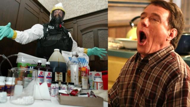 Profesor de química acusado laboratorio ilegal de drogas