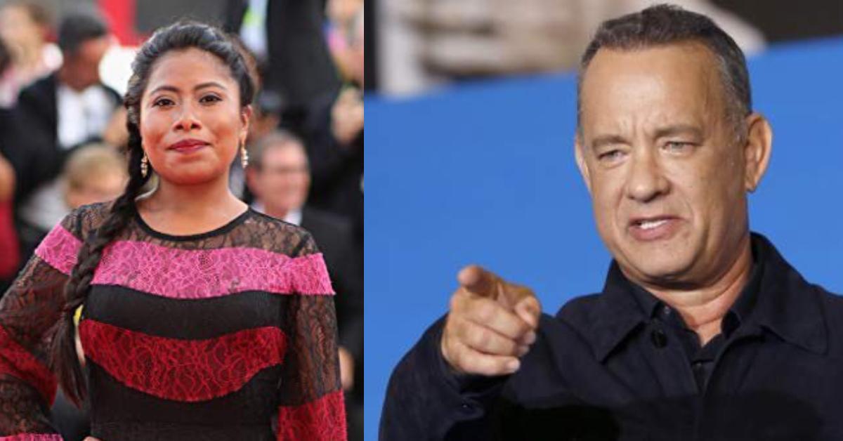 Tom Hanks se emocionó cuando conoció a Yalitza Aparicio