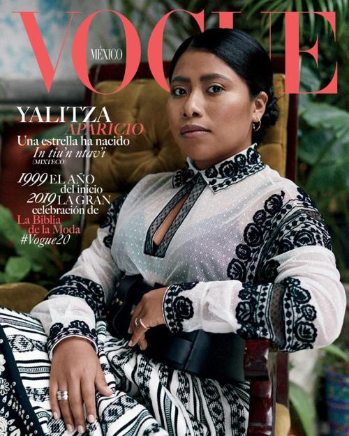 Yalitza Aparicio llega a la portada de Vogue México
