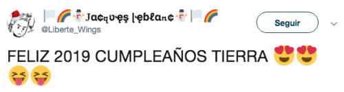 Gente cree que Tierra cumplió 2019
