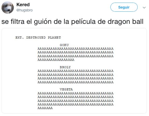 Mejores memes de la nueva película de Dragon Ball