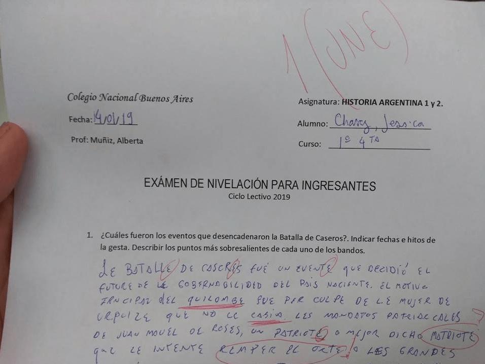 Alumna reprueba examen por responder con lenguaje incluyente