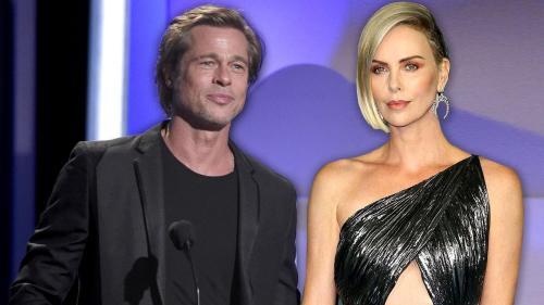 Charlize Theron y Brad Pitt son novios