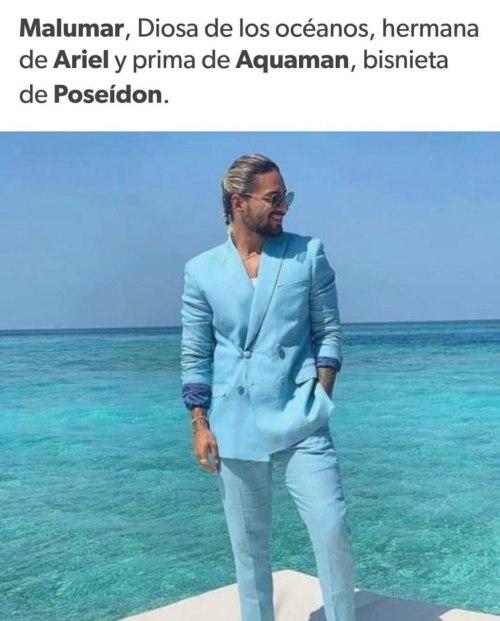 Memes de Maluma en el Mar