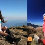 Murió congelada la montañista que escalaba en bikini