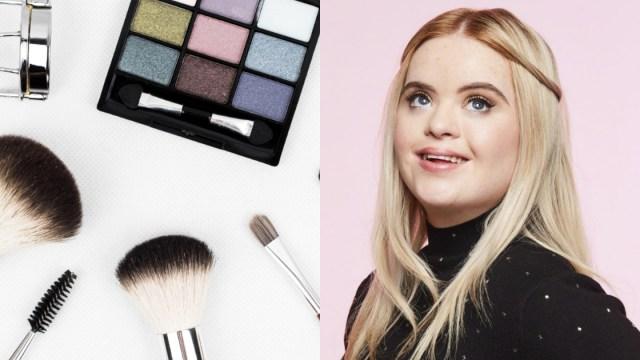 Kate Grant Primer Modelo Con Síndrome De Down, Modelos Con Síndrome De Down, Síndrome De Down, Modelaje, Kate Grant, Benefit Cosmetics