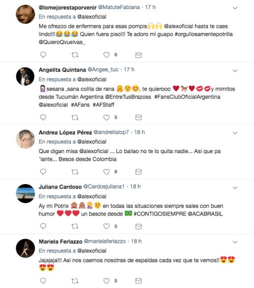 Alejandro Fernandez se cae en concierto