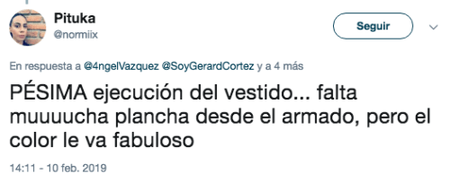 Vestido de Yalitza Aparicio genera polémica en Twitter