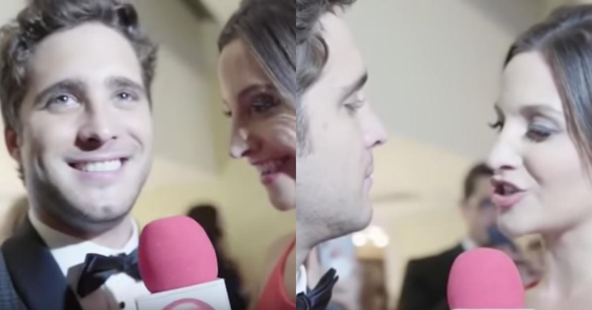 VIDEO: Conductora le roba beso a Diego Boneta