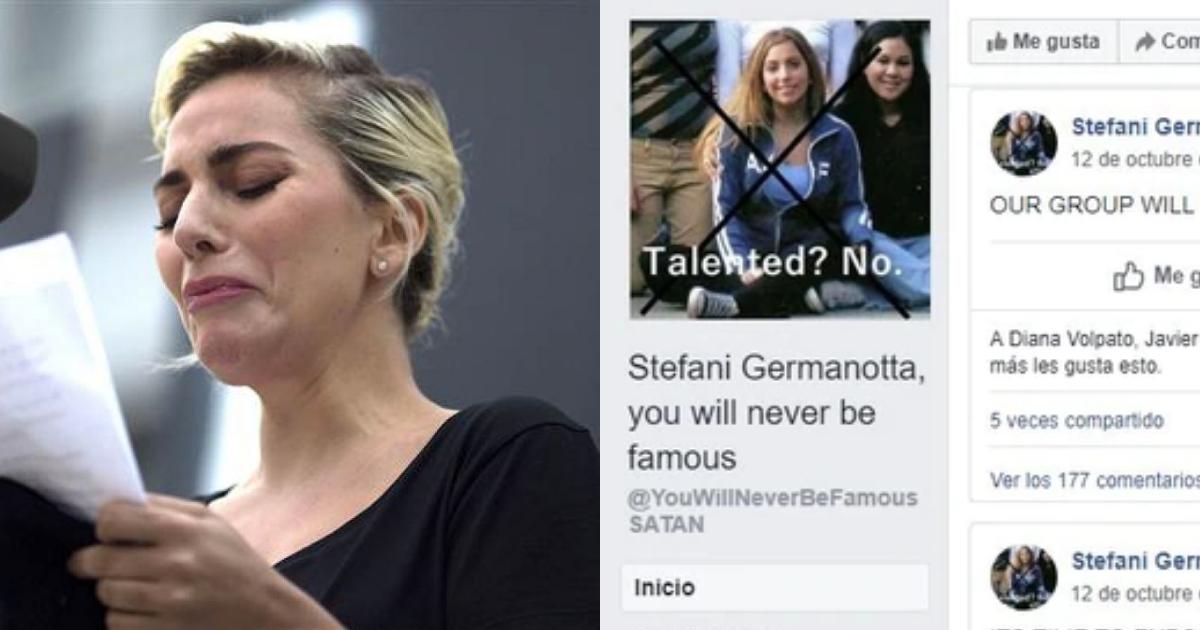 Donde Estudio Lady Gaga, Bullying Contra Lady Gaga, Acoso, Ex Compañeros, Lady Gaga, Grupo Facebook