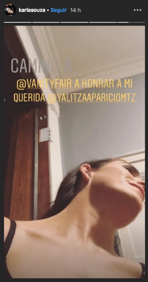 Karla Souza desmiente rumores sobre Yalitza Aparicio