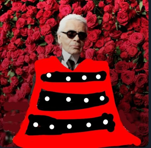 Comparan a Karl Lagerfeld con Chavela Vargas