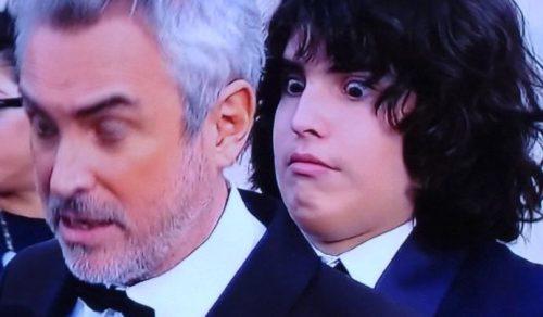 Por qué el hijo de Alfonso Cuaron hizo caras