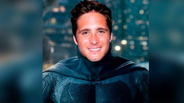 Así fue la audición de Diego Boneta para interpretar Batman