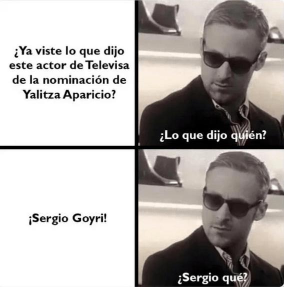 Mejores memes de Sergio Goyri y sus declaraciones racistas