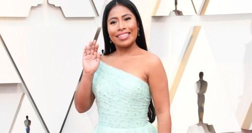Yalitza Aparicio acude con su mamá al Oscar