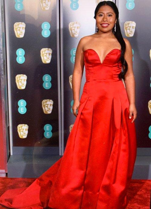 Vestido de Yalitza Aparicio en los BAFTA genera polémica