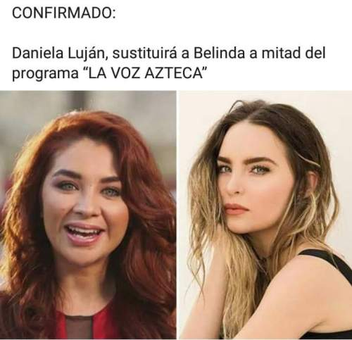 Comparan a Belinda con Lyn May