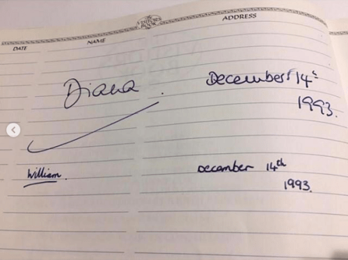 Revelan foto inédita de la princesa Diana