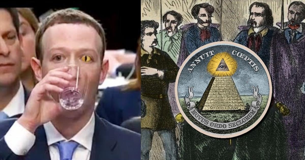 Facebook se cayó por pelea entre Illuminatis y Reptiliano