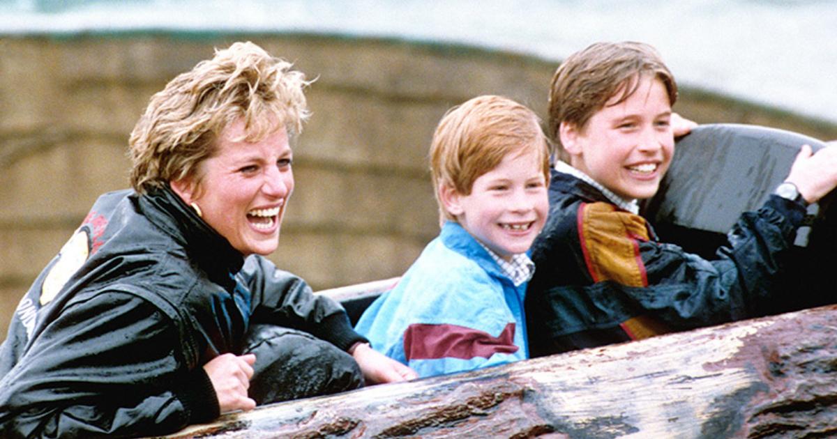 Fotos Inéditas Princesa Diana, Princesa Diana Fotos, Foto Inédita, Princesa Diana, Principe William, Principe Harry