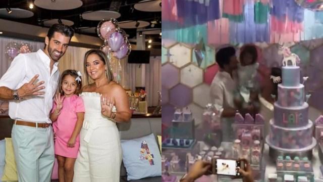 Fotos Del Cumpleaños De La Hija De Adamari López Y Toni Costa, Fotos Cumpleaños, Alaia, Adamari López, Toni Costa, Cumpleaños