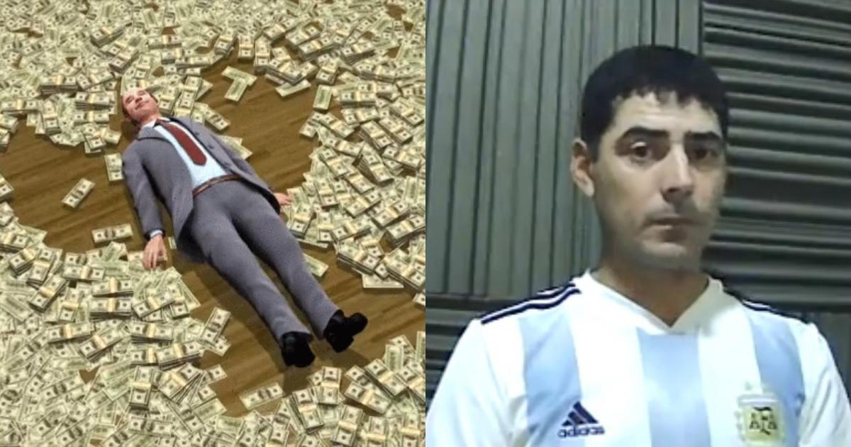 Historia Del Hombre Que Devolvió Dinero En Argentina Es Falsa, Argentina, Hombre Devuelve Dinero, José Sánchez Argentina, Nogoyá, Fake News