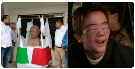 Los mejores memes de Benito Juárez y su estatua alienígena
