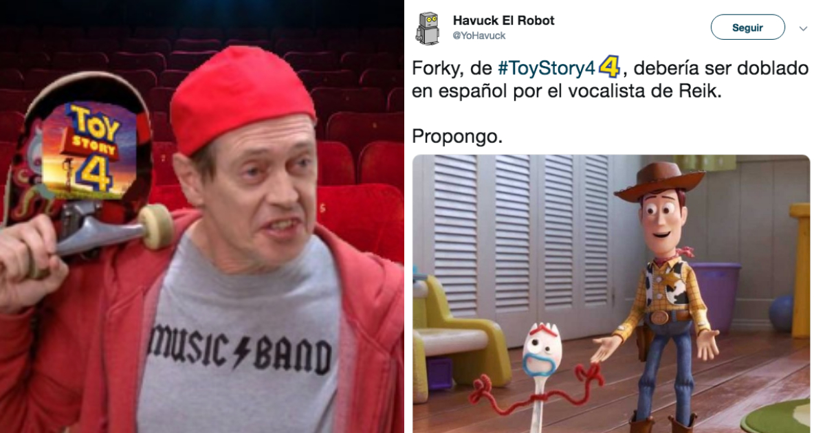 Toy Story, Quien Es Forky, Trailer Toy Story 4, Trailer, Toy Story 4, Video, Memes Trailer Toy Story 4, Toy Story 4 Memes