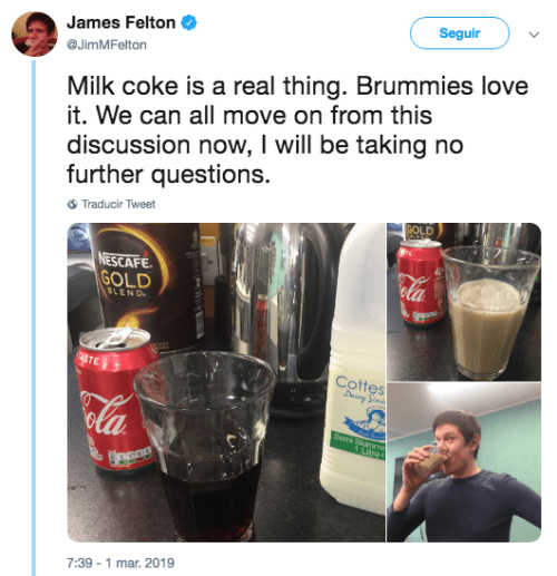 Llega el milkcoke challenge