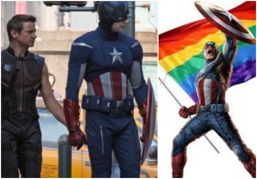 Foto Capitán América Gay 9 Marzo 2019