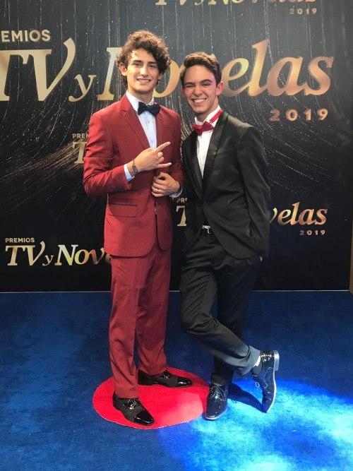 Premios TV y Novelas alfombra roja