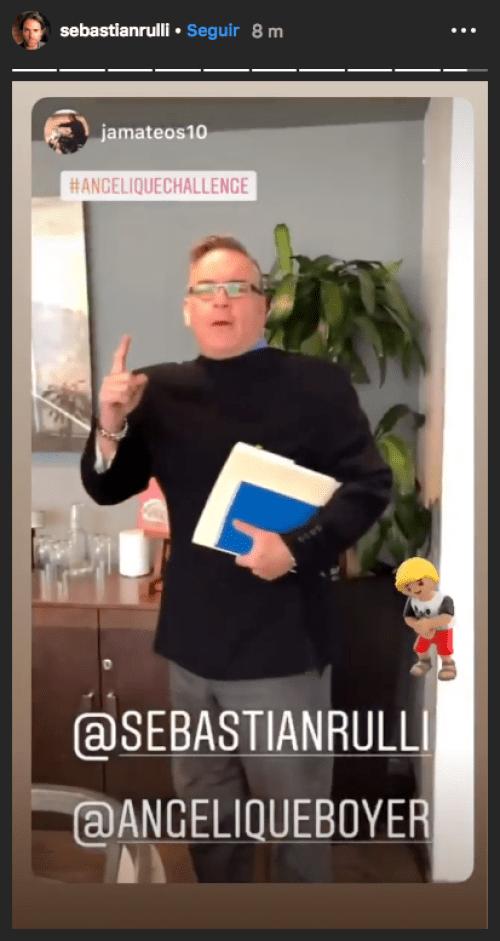 Sebastián Rulli convoca al Angelique Challenge