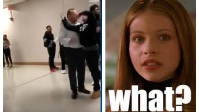 Arrestan a alumno por hacer llave Randy Orton director