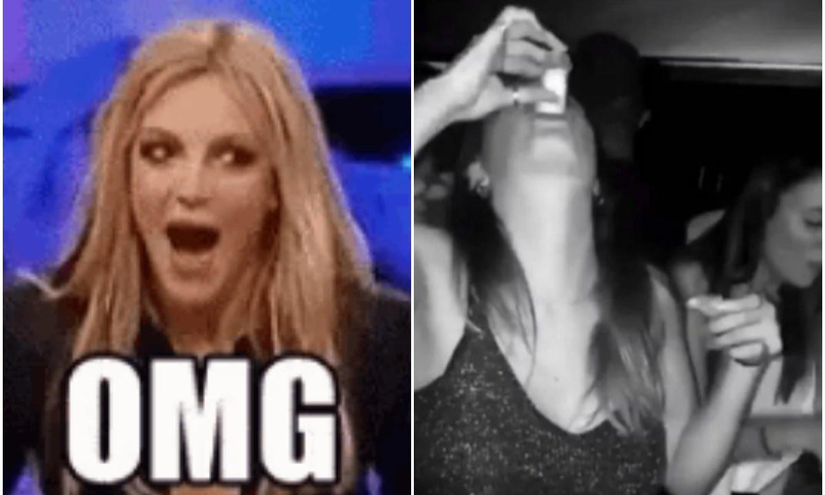 Joven confunde un shot de tequila con un vaso de sal