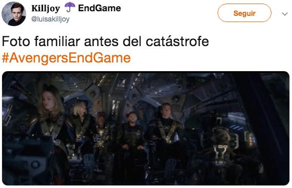Reacciones de Internet al nuevo trailer de Avengers Endgame