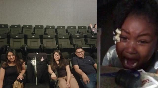 Llevan amigo muerto a ver Avengers: Endgame