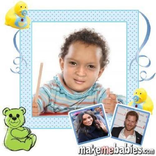 Cómo se verá el bebé de Meghan Markle y el príncipe Harry