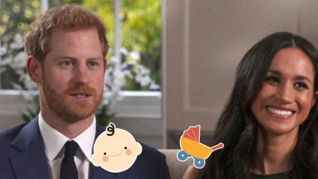 Cómo Se Verá El Bebé De Meghan Markle Y El Príncipe Harry, Bebé De Meghan Markle Principe Harry Cuando Nace, Bebé, Meghan Markle, Príncipe Harry, Cómo Será