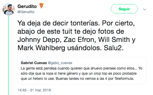 Periodista critica a Joaquí Bondoni por su look