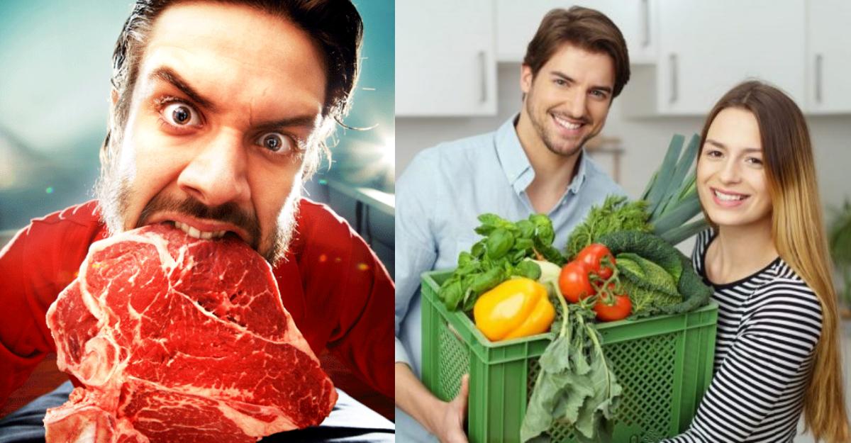 Carnívoros son más sanos que los veganos: ciencia