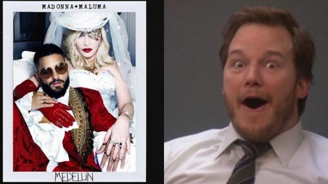 Madonna Y Maluma Anuncian Canción Juntos, Madonna Y Maluma Canción Juntos, Medellín Madonna Maluma, Madonna Maluma, Madonna, Maluma
