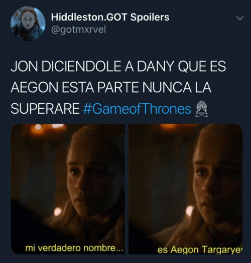 Memes segundo capítulo Game of Thrones