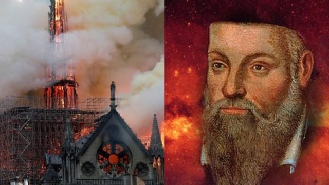 Profecía de Nostradamus advirtió de incendio en Notre Dame