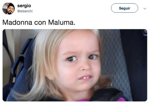 Maluma y Madonna lanzan canción juntos y así reaccionó Internet