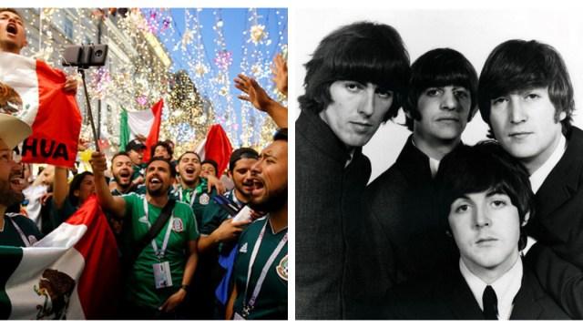 Rescatan video inédito de The Beatles en México