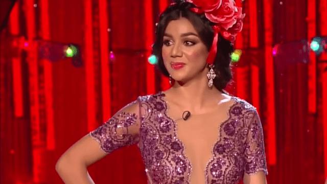 Foto María Elena Anaya Confetti Nuestra Belleza Latina