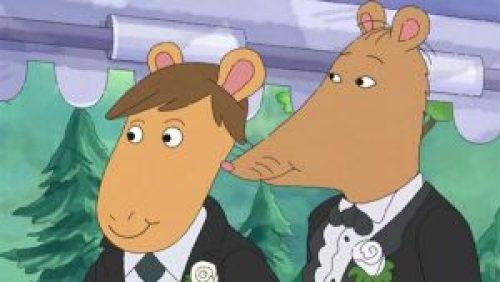 Boda gay aparece en el programa infantil Arthur