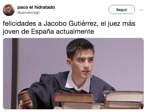 Confunden a Jordi el Niño Polla con magistrado