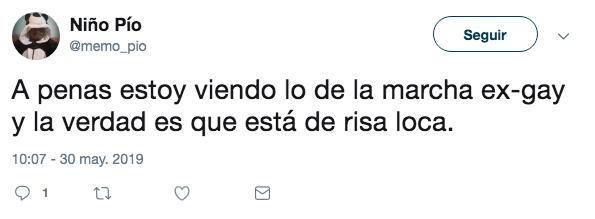 Mauricio Clark invita a marcha ex gay